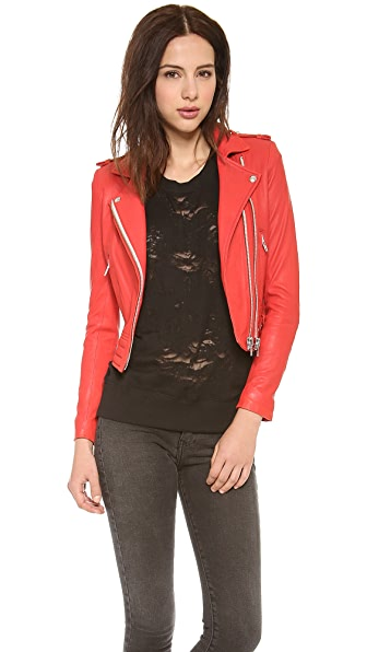 IRO Luiga Leather Jacket