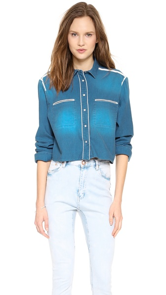 IRO Anthea Button Down Top