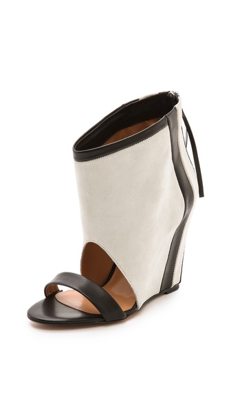 IRO Sattley Contrast Wedge Sandals