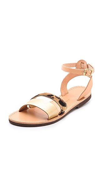 ISAPERA Ilianthos Mixed Media Sandals
