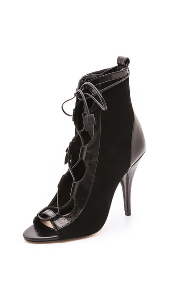 Isa Tapia Nadia Lace up Booties