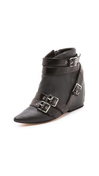 Isa Tapia Josie Buckle Booties