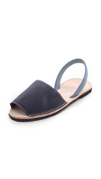 ISHVARA Albarcas Two Tone Sandals