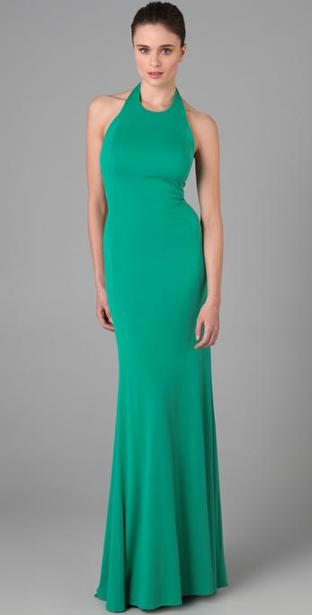 ISSA Halter Gown