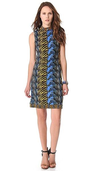 ISSA Sleeveless Shift Dress
