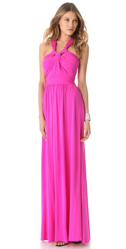 ISSA Halter Cutout Gown