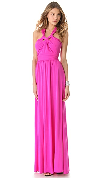 ISSA Halter Cutout Gown
