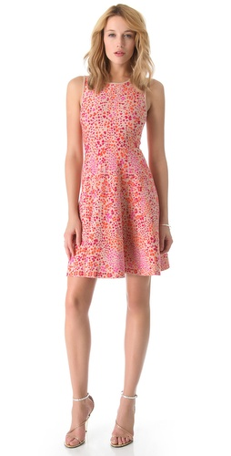 Shop ISSA Heart Print Dress and ISSA online - Apparel, Womens, Dresses, Cocktail, Night_Out,  online Store
