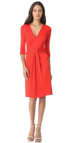 ISSA Knot Front Dress