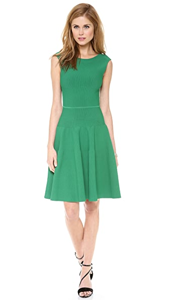 ISSA Rayon Rib Sleeveless Dress
