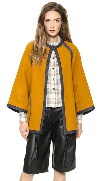 ISSA Joanie Poncho Coat