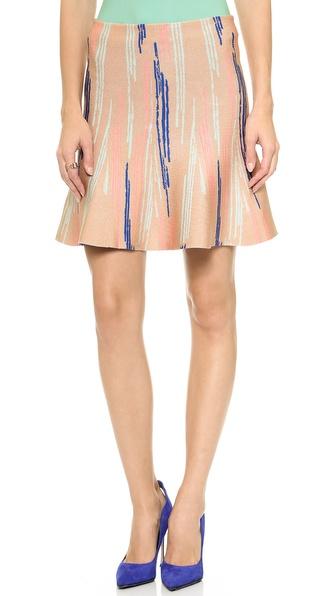 ISSA Maisie Flare Skirt