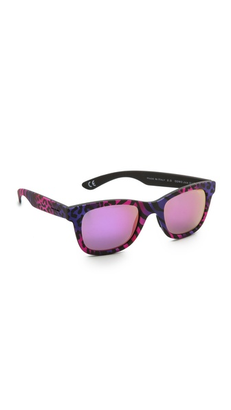 Italia Independent Zebra Sunglasses