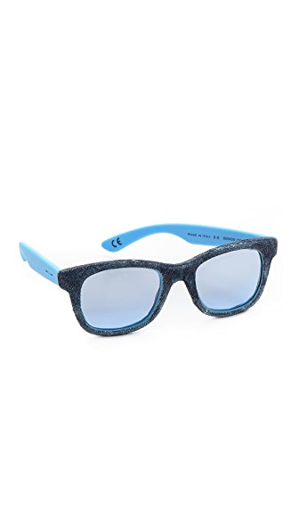 Italia Independent Denim Sunglasses