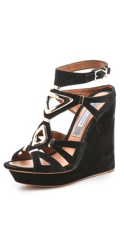 Ivy Kirzhner Nile Wedge Suede Sandals