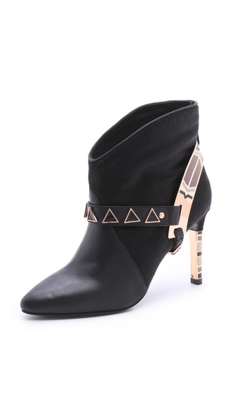 Ivy Kirzhner Caballero High Heel Harness Booties