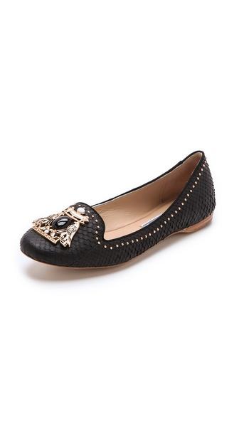 Ivy Kirzhner Marakesh Embellished Flats - Black