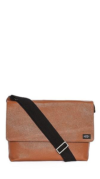 Jack Spade Mason Leather Messenger Bag