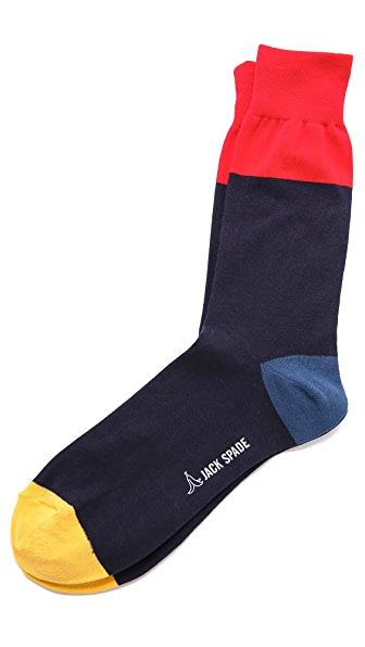 Jack Spade Colorblock Socks