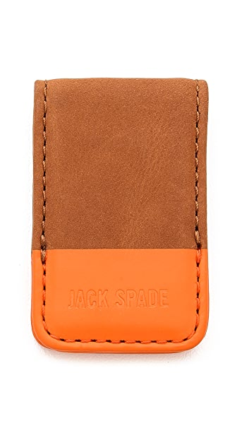 Jack Spade Dipped Leather Money Clip