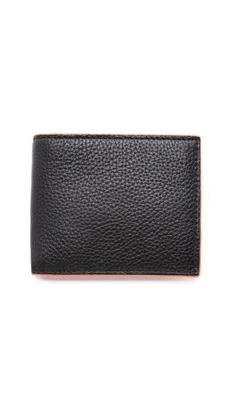 Jack Spade Pebbled Bifold Wallet