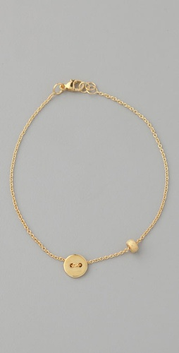 Jacquie Aiche Button Bracelet