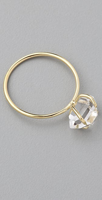 Jacquie Aiche Hermiker Prong Waif Ring
