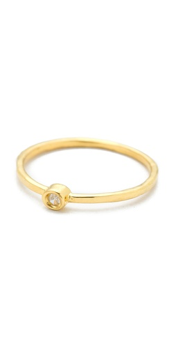 Jacquie Aiche Diamond Waif Bezel Ring