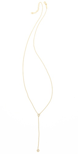 Jacquie Aiche Bezel Rosary Necklace
