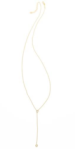 Jacquie Aiche Bezel Rosary Necklace