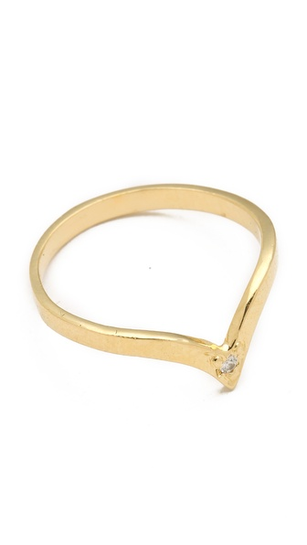 Jacquie Aiche JA Stackable V Ring