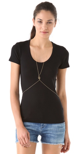 Jacquie Aiche Snake Body Chain