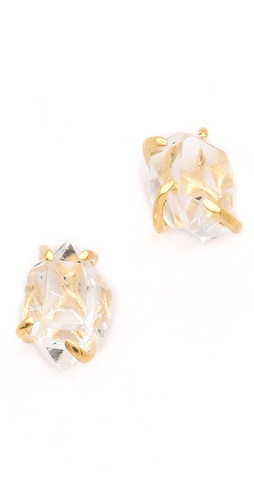 Jacquie Aiche Herkimer Crystal Prong Studs