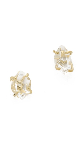 Jacquie Aiche JA Herkimer Crystal Prong Studs