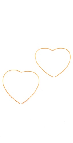 Jacquie Aiche Heart Hoops