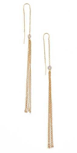 Shop Jacquie Aiche Shower Ear Threads and Jacquie Aiche online - Accessories,Womens,Jewelry,Earring, online Store
