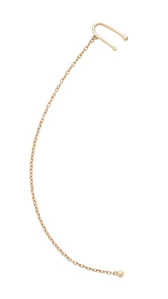 Jacquie Aiche JA Ball Chain Ear Cuff