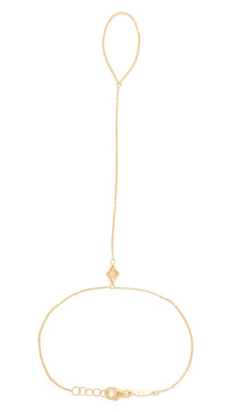 Jacquie Aiche JA Diamond Kite Hand Chain