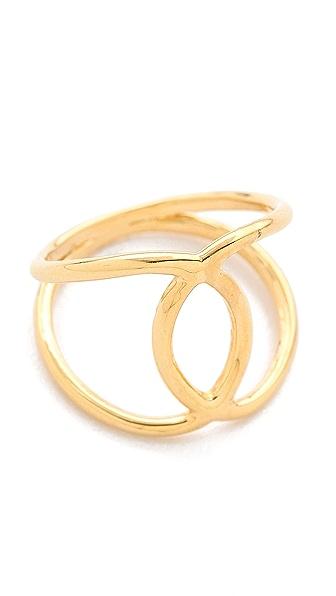 Jacquie Aiche JA Overlap Circle Ring