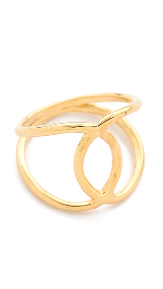 Jacquie Aiche Overlap Circle Ring
