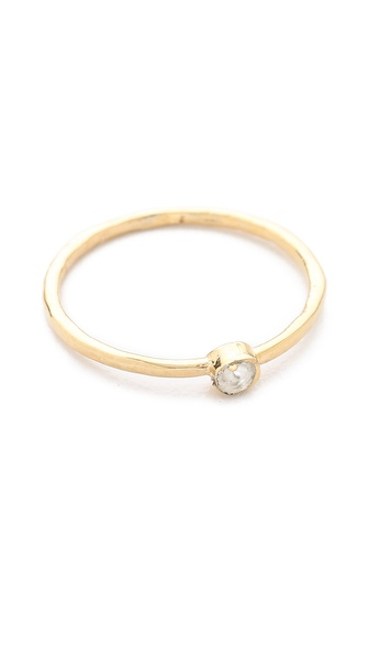 Jacquie Aiche Hammered Waif Ring