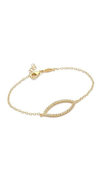 Jacquie Aiche JA Marquis Shape Bracelet