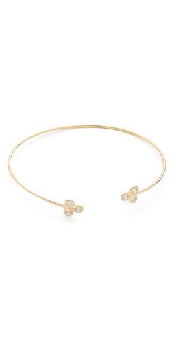 Jacquie Aiche Trinity Cluster Cuff Bracelet