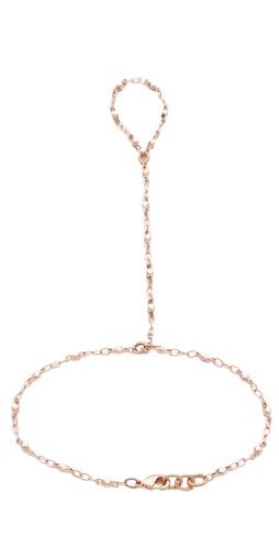 Jacquie Aiche Vintage Chain Finger Bracelet