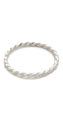 Jacquie Aiche Twisted Mini Waif Topper Ring