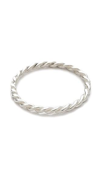 Jacquie Aiche JA Twisted Mini Waif Topper Ring
