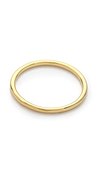 Jacquie Aiche JA Smooth Mini Waif Topper Ring