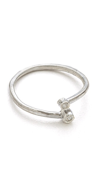 Jacquie Aiche JA Hammered Wrap Ring