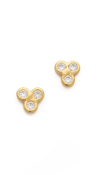 Jacquie Aiche JA 3 CZ Cluster Earrings