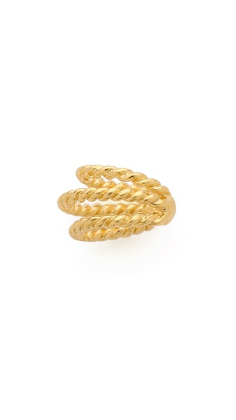 Jacquie Aiche JA Triple Twisted Ear Cuff